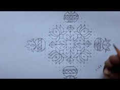 dots simple and easy flowers and kite rangoli Simple Rangoli Border Designs, Rangoli Simple, Rangoli Designs Latest, Rangoli Borders, Rangoli Ideas, Rangoli Designs Diwali, Diwali Rangoli, Rangoli Designs With Dots, Rangoli With Dots
