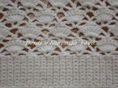 Crochet   Vintage   Desde o tempo da vovó...: Branco... e Vintage!