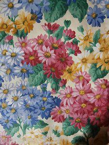Vintage Sanderson fabric Daisy days - Ebay