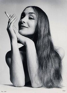 Pina Bausch by Walter Vogel, 1967