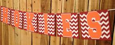 "Chic Virginia Tech University ""Go Hokies"" Banner on Etsy, $12.00"