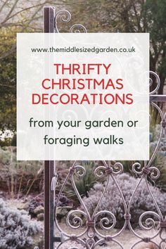 DIY Christmas decorations and ideas using twigs and clippings from your garden or foraging walks. Indoor and outdoor decoration ideas, all easy and homemade #Christmas #holidays #garden #backyard Natural Christmas, Homemade Christmas, Vintage Christmas, Christmas Holidays, Merry Christmas, Holiday Ideas, Christmas Ideas, Christmas Crafts, Christmas Decorations
