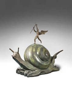 Salvador Dali (1904-1989), Snail and the angel, 1977-1984