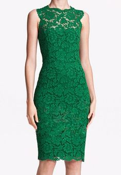 Green Lace Bodycon Dress, $30.81. I want something like this- with the high neck lace-, maybe in baby blue, for the rehearsal dinner