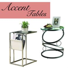 Side Tables steal the show. Brought to you by Shoplet.com- Everything for your business  http://www.shoplet.com/monarch%20furniture%20tables/usrch