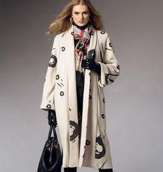BUTTERICK Schnittmuster B5960  Damen Mantel Neu von Fundstücke......der besonderen Art.....Aussergewöhnliches......Liebgewonnenes auf DaWanda.com
