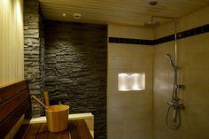 Sauna and bathroom, 2 in 1