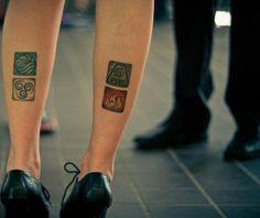 Avatar: The Last Airbender Tattoo Ideas | Cool Tattoos Inspired by Avatar: The Last Airbender