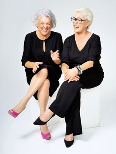 Yup, it's Tyne Daly and Sharon Gless. Description from pinterest.com. I searched for this on bing.com/images