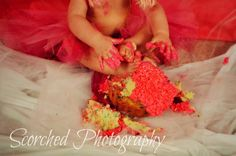 from our second 1 yr birthday session and cake smash