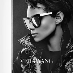 Binx for Vera Wang Eyewear Fall / Winter 2015 (Photography: Patrick Demarchelier)