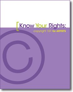 How Much Do You Know About Copyright? Artist Daily and the staff at Interweave have released a new free eBook Know Your Rights: Copyright 101 for Artists to help raise awareness of the issues surrounding copyright and give credit to the talented writers, designers, artists, photographers, and innovators who work with us to share their…