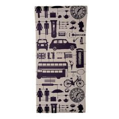 Airfix London Wallpaper Taupe - Roll of Wallpaper