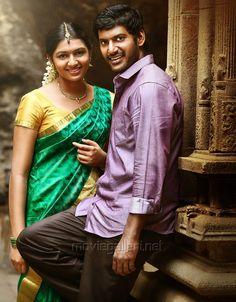 Lakshmi Menon and Vishal in Pandiya Nadu Movie Stills