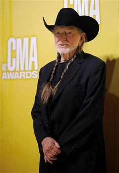 Willie Nelson arrives at the 46th annual Country Music Awards at the Bridgestone Arena in Nashville on Nov. 1, 2012. See more stars at the 2012 CMA Awards on Wonderwall: http://on-msn.com/YtSBXW