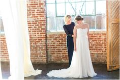 Bride Getting Ready at The Foundry Puritan Mill