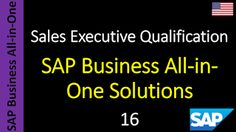 SAP - Course Free Online: 16 - SAP Business All-in-One Solutions