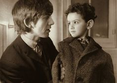 George and a little boy (the boy isn't Dhani)