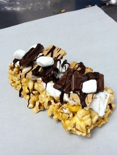 s'mores from POParella's Gourmet Popcorn and Treats - Frisco, TX