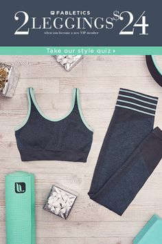 Stylish, Technically Efficient Activewear Designed for All Shapes and Sizes. Take Our Quick 60 Second Style Quiz to Get Your First Two Pair of Our Best Selling Leggings for $24!