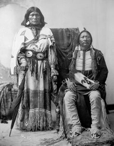 Buckskin Charlie and Wife, c. by William Henry Jackson - History Colorado Collection Mouache band of the Southern Ute Tribe Native American Prayers, Native American Music, Native American Quotes, Native American Beauty, Native American Tribes, Native American History, American Symbols, American Women, Henry Jackson