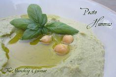Pesto Hummus- I like hummus in everything! (plus basic hummus and a sweet hummus used as a fruit dip!).