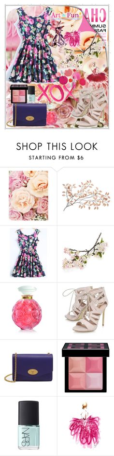 """""""XOX"""" by twinkle-daisy ❤ liked on Polyvore featuring Clinique, Crate and Barrel, Lalique, Carvela, Mulberry, Givenchy, NARS Cosmetics and GALA"""