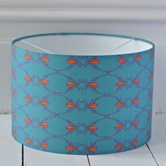 Giant Beetle Lampshade {Available in six sizes} Hand Printed Fabric, Ceiling Pendant, Lampshades, Beetle, How To Draw Hands, Cushions, Prints, Inspiration, Hand Drawn