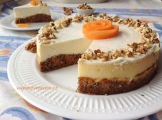 VÍKENDOVÉ PEČENÍ: Mrkvový cheesecake Vegan Vegetarian, Vegetarian Recipes, Healthy Recipes, Mini Cheesecakes, Food Inspiration, Sweet Recipes, Food And Drink, Sweets, Cookies
