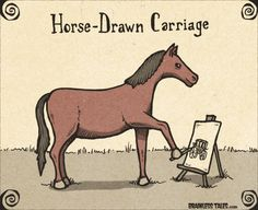 Horse-Drawn Carriage - Brainless Tales