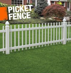 A picket fence is typically constructed of dozens of narrow slats of wood, or pickets, which are attached to a pair of parallel rails. Simple, well-designed, and versatile, the picket fence can be found in all sorts of designs, from modern to traditional.