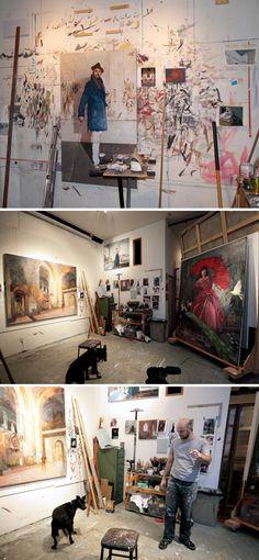 Studio Visit: Tim Kent  https://aftervasari.wordpress.com/2011/11/23/studio-visit-tim-kent/