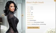 Isn't she gorgeous?  Elena is 27 yrs old and is a cosmetologist by profession. She is absolutely crazy when it comes to her fitness, which is quite evident from her picture. :p  #Ukrainebride  To know about her, visit : http://www.ukraine-matchmaker.com/contact-me.html