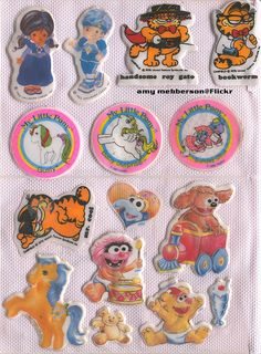 puffy stickers !!!! <3 amy mebberson on flickr