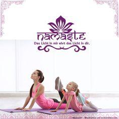 Wanddeko die einfach an der Wand zu montieren ist und rückstandslos auch wieder entfernbar ist. Verwndle deinen Yogaraum in einen besonderen Erlebnisraum der Entspannung und Meditation #lichterleben