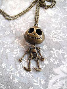 Jack Skellington-Nightmare Before Christmas Necklace