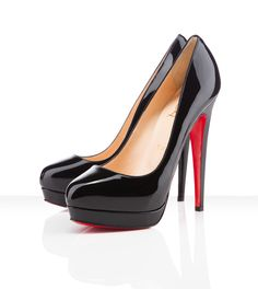 I need black pumps and these are gorgeous! All You Need is Love And Christian  Louboutin Bianca Platforms Black CAB!