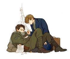 Theseus and Newt scamander Fanart Harry Potter, Mundo Harry Potter, Harry Potter Fandom, Harry Potter Memes, Harry Potter World, Fantastic Beasts Fanart, Fantastic Beasts And Where, Steven Universe, Harry Potter Universal
