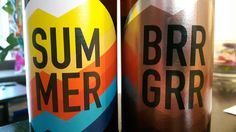 And Union Summer & BrrGrr #craftbeer #craftbier #andunion #paleale Craft Beer, Coca Cola, Canning, Summer, Crafts, Summer Time, Manualidades, Coke, Handmade Crafts