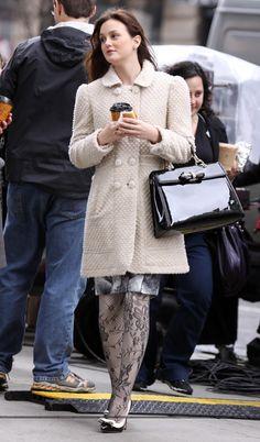 Blair Waldorf love her coat
