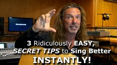 Sing better instantly -  3 insane tips!Learn More:  http://KenTamplinVocalAcademy.com/ Singers Forums: http://forum.kentamplinvocalacademy.com/