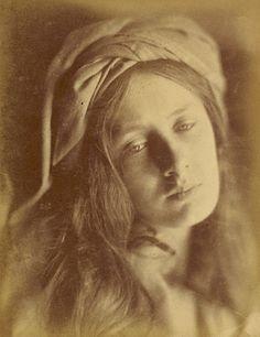 Beatrice. Julia Margaret Cameron. British, Freshwater, Isle of Wight, 1866