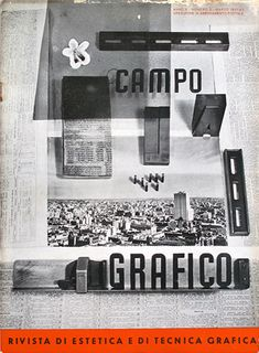 Campo Grafico - Nº 3 - Grete & Horacio Coppola, March 1937