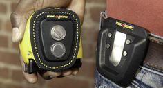 Black Quick Snap Magnetic Tape Measure Holder - MagnoGrip