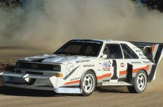 11 July 1987 Walter Röhrl and his Audi Sport quattro won the Pikes Peak Hill Climb in Colorado. Audi Quattro, Sport Quattro, Audi Tt, Audi Cars, Audi Sport, Sport Cars, Race Cars, Motor Sport, Audi Motorsport