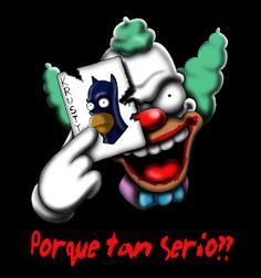 Why so serious-Krusty