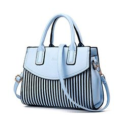 Ladies Black and White Striped Casual Tote Top-handle Shoulder Messenger Bags Bao Bao Pearl BaoBao Bolsas Handbags Hobo Purses, Hobo Handbags, Prada Handbags, Black Handbags, Shoulder Handbags, Leather Handbags, Purses And Bags, Shoulder Bags, Ladies Handbags