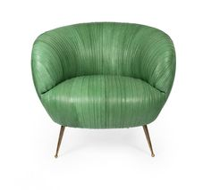 Souffle Leather Chair   From a unique collection of antique and modern lounge chairs at https://www.1stdibs.com/furniture/seating/lounge-chairs/