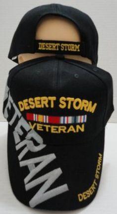 desert storm veteran hat / baseball cap Case of 24