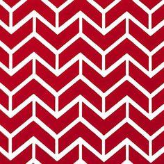 Um belo estampado geométrico, as linhas obliquas do desenho compõem setas que indicam direção e movimento, em vermelho e branco. Pode ser combinado com diferentes padrões de forma a conferir dinamismo à decoração. Perfeito para cortinas e estores, almofadas, coxins e muito mais.